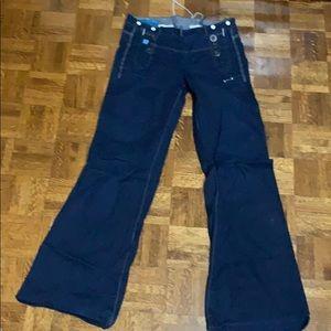 G-star wide leg jeans.
